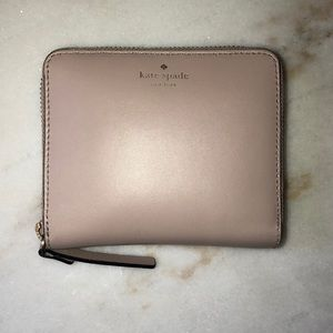 SALE!!!♠️Kate Spade♠️ Mauve pink zip wallet